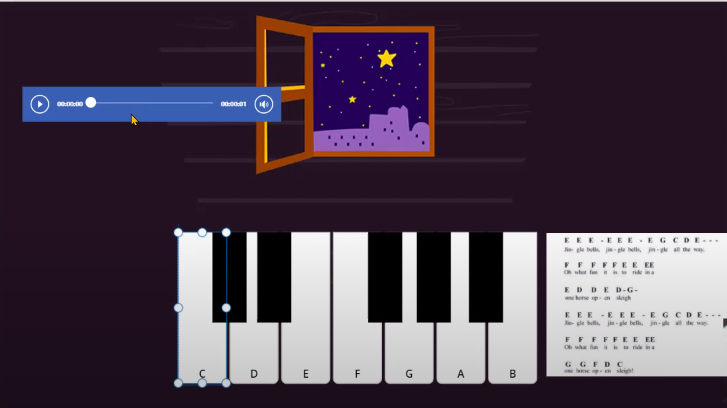 Piano in PowerApps