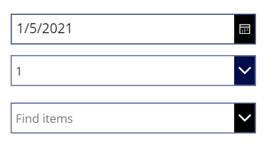 Changing color of Icon Background of controls in PowerApps Controls