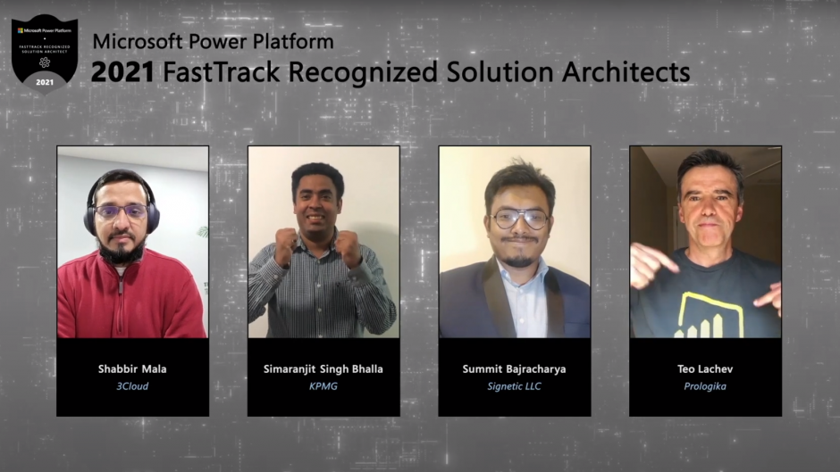 Summit Bajracharya is the 2021 FastTrack Recognized Solution Architect